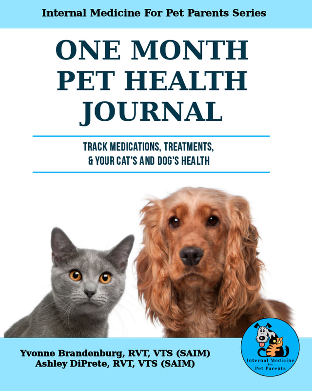 One Month Pet Health Journal